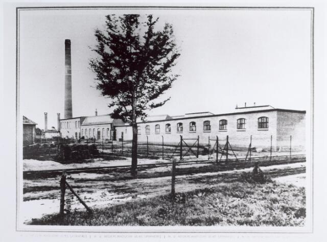 015002 - Complex van de Nederlandsche Vlasspinnerij aan de Beukenstraat anno 1919