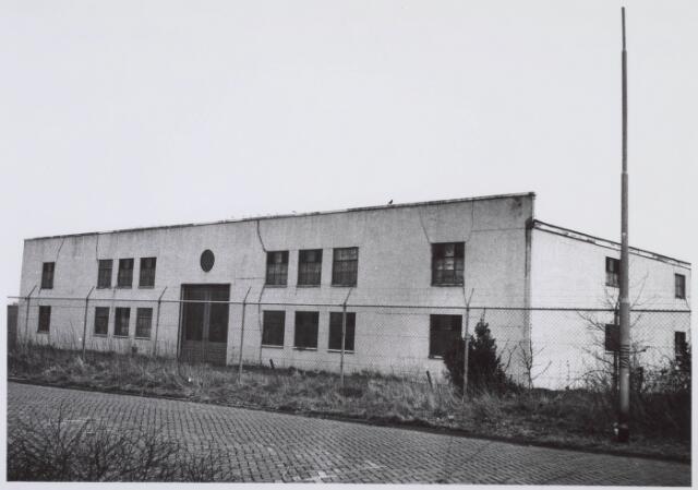 018355 - Textielindustrie. Gedeelte van de gebouwen van AaBe Wollenstoffen- en Wollendekenfabrieken aan de Fatimastraat.