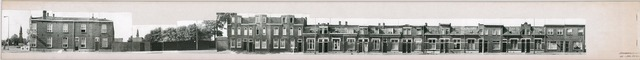 1625_0153 - Fotostrook; straatwand; panden aan de linten en hoofdverbindingswegen in het centrum van de stad; hoek Korvelplein / Korenbloemstraat 175; foto's werden tussen 1976 en 1985 gemaakt. (foto gemaakt in periode 1976-1985)