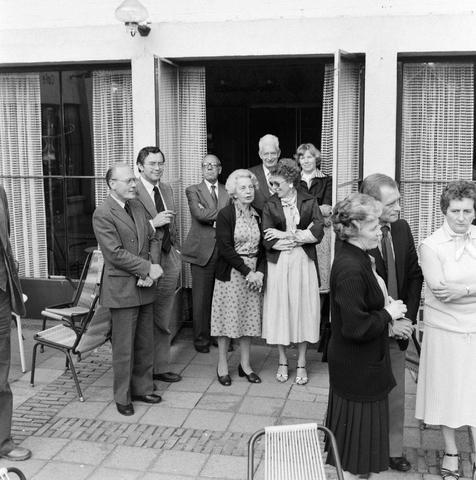 1237_012_988_007 - Viering van een jubileum van textiel firma Van Besouw b.v. bij restaurant Boschlust in Goirle in mei 1978.