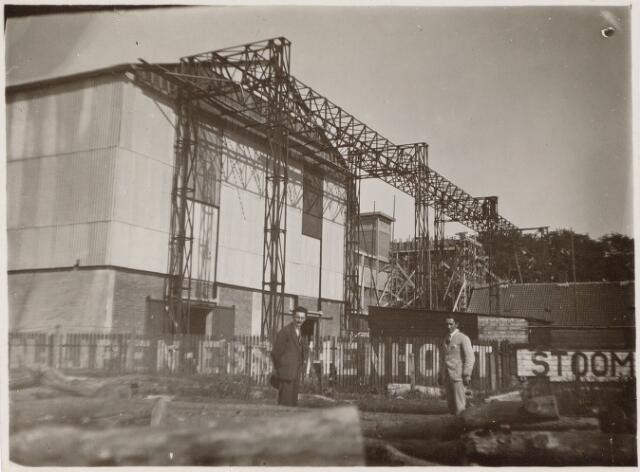 049874 - Staalconstructie bij de firma Rompa te Breda van de N.V. Tilburgse Constructiewerkplaatsen en Machinefabriek v/h A. Hovers aan de Lovensestraat.
