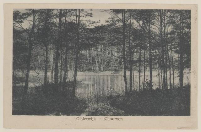 075122 - Serie ansichten over de Oisterwijkse Vennen.  Ven: Choorven.