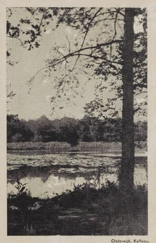 075214 - Serie ansichten over de Oisterwijkse Vennen.  Ven: Kolkven