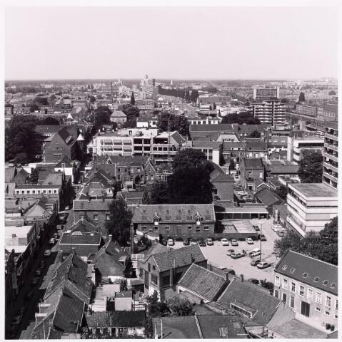 036597 - Panorama van Tilburg vanaf de P.T.T. Toren