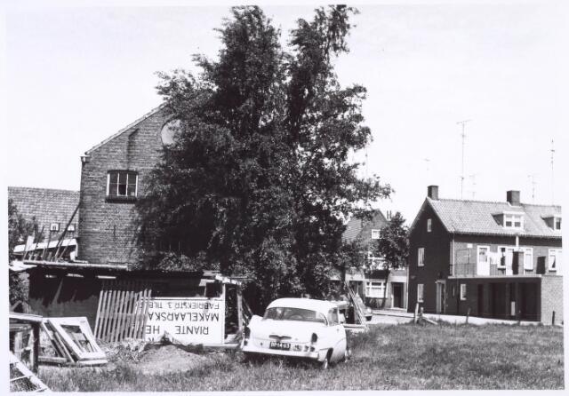 018832 - Achterzijde van het pand Rielseweg 50, thans Generaal Winkelmanstraat, halverwege 1968