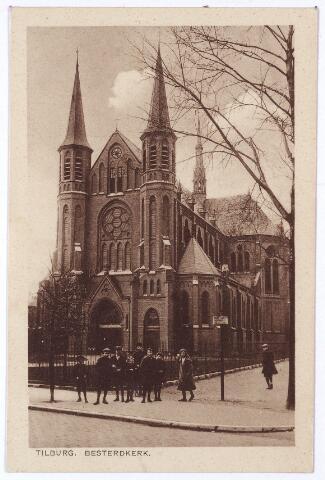001472 - Koestraat, kerk van de H. Leonardus en gezellen (Besterd)