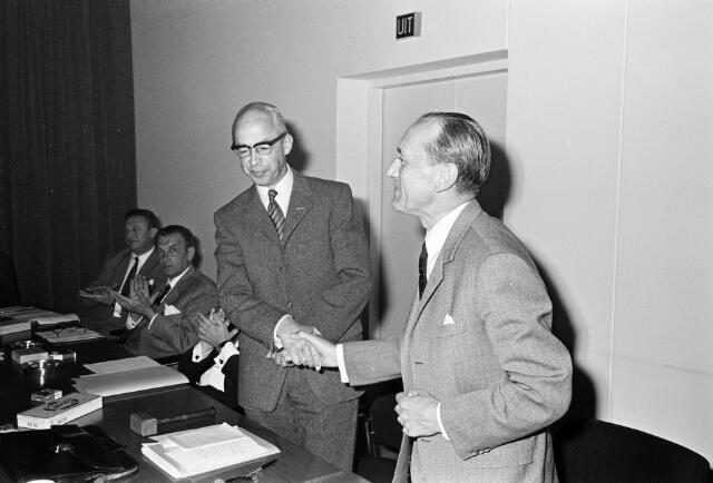 050813 - Overdracht voorzittershamer bureau mr.dr. B.J.M. van Spaendonck te Tilburg.