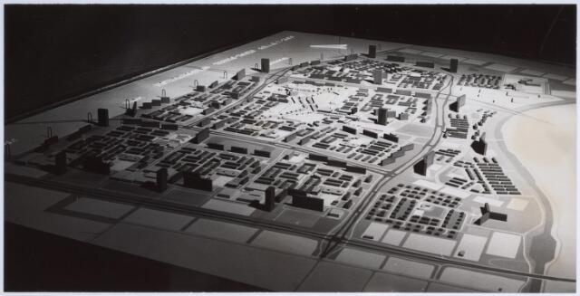 026276 - Maquette van het bestemmingsplan Tilburg-Noord.