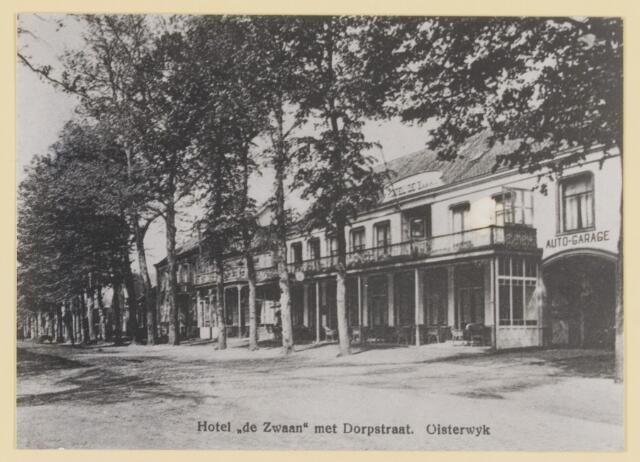 074547 - De Lind. Hotel De Swaen en café Het Wapen van Oisterwijk, De Drie Zwaantjes.
