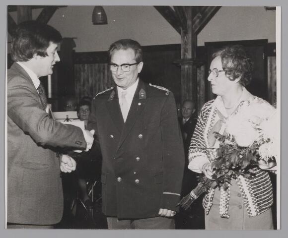 083489 - A. Schram 50 jaar bij de Harmonie