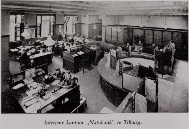 040611 - Interieur kantoor 'Natobank' te Tilburg.