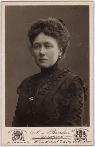 006452 - Antoinetta de Beer (1866-1949) dochter van Norbertus de Beer en Johanna Maria Huberta Donders.
