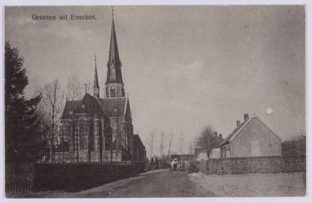 061779 - R.K. kerken. R.K. Kerk St. Caecilia aan de Kerkstraat te Enschot