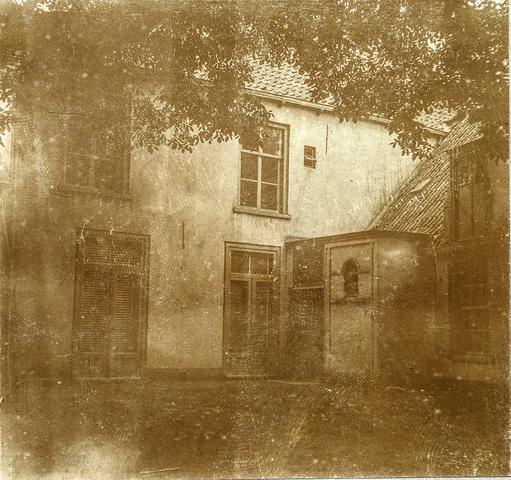 653491 - Huis van textielfabrikant Diepen. Achterzijde. (Origineel is een stereofoto.)