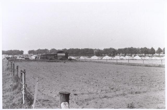 017838 - Perceel van bloemisterij A.J.C. Trouw nabij de Rielseweg (thans Dr. Hub. van Doorneweg) anno 1969
