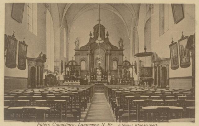 88995 - Interieur Kloosterkerk Langeweg
