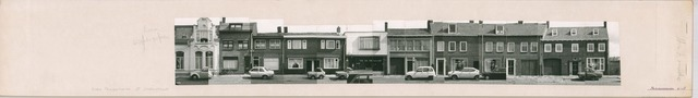 1625_0241 - Fotostrook; straatwand; panden aan de linten en hoofdverbindingswegen in het centrum van de stad; Prinsenhoeven 2-18