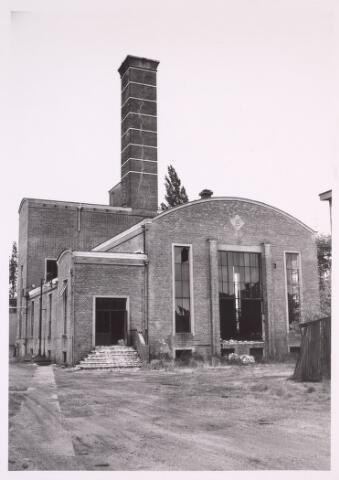 016884 - Gedeelte van het fabriekscomplex van looierij/wolwasserij Bernard Pessers. Vooraanzicht van het ketelhuis.