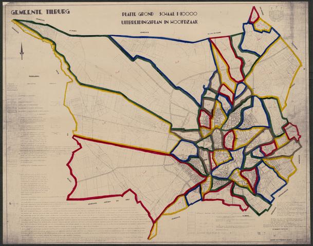 652538 - Uitbreidingsplan in hoofdzaak, goedgekeurd in 1940 en gewijzigd bij raadsbesluit van 8 december 1951.