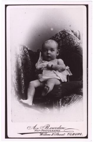 004030 - kinderportret. baby. onbekend kopie (reproductie; origineel niet in collectie aanwezig)