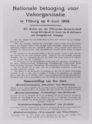 040901 - Nationale betoging voor Vakorganisatie te Tilburg
