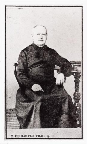 007892 - Bidprentje. Joannes van Schijndel (1811-1871) geb. te Dinther overl. Tilburg.