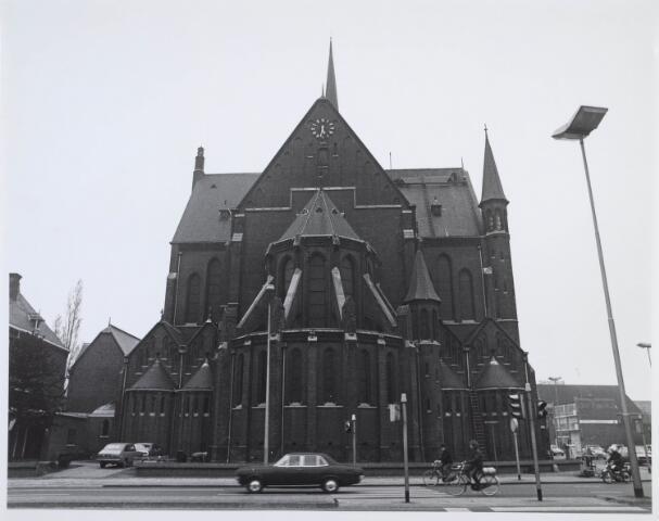 020018 - Kerk van het Heilig Hart van de parochie Noordhoek, ontworpen door architect dr. P.J.H. Cuypers en gebouwd in 1897/1898. Het werd in 1975 gesloopt