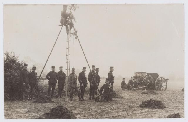 053668 - Eerste wereldoorlog 1914-1918. Activiteiten/materieel.