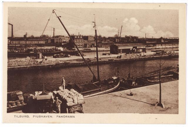 001946 - Panorama van de Piushaven.