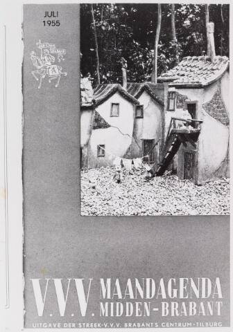 057271 - Toerisme. Rommeldam, miniatuurstad afgebeeld op de maandagenda van de V.V.V. Midden-Brabant