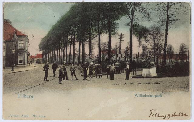 002830 - Ingang Wilhelminapark.
