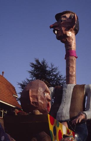 656425 - Carnaval. Optocht in Tilburg in 1983.