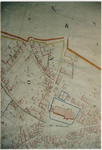 101859 - Kadastrale kaart / minuutplan. Vischmarkt.