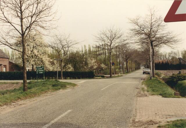 650832 - Gebied waar de latere woonwijk 'De Reeshof' is gebouwd.