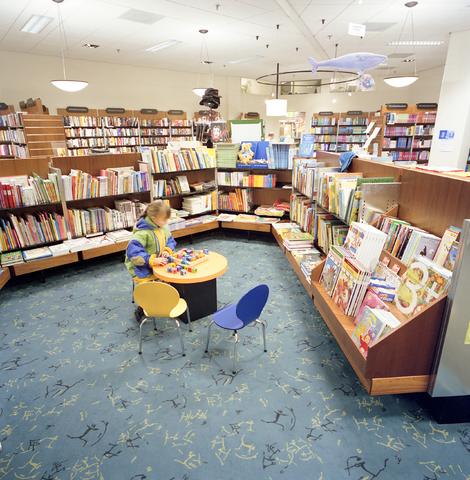 D-000936-2 - Interieur boekhandel Gianotten