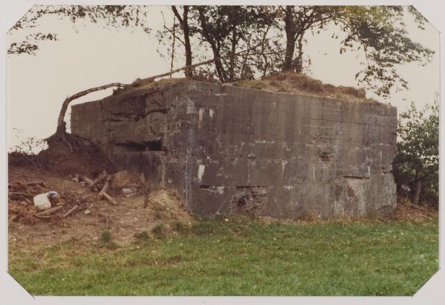 """083769 - WOII; WO2; Bunker Oisterwijkse heide """"De Kiek"""", gebouwd door de Duitsers in de Tweede wereldoorlog"""