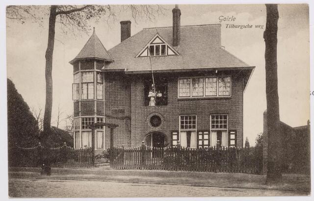 046605 - De villa van fabrikant Janus  Peijnenborg-van de Lisdonk aan de Tilburgseweg nr. 37, nu restaurant de Hovel.