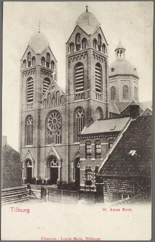 010395 - St. Annakerk en pastorie aan de Capucijnenstraat.