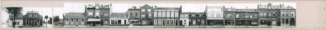 1625_0165 - Fotostrook; straatwand; panden aan de linten en hoofdverbindingswegen in het centrum van de stad; *zie aantekening onderaan / Korvelseweg 4-204; foto's werden tussen 1976 en 1985 gemaakt.