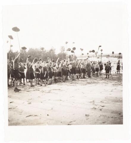 052921 - Jeugdorganisaties. Scouting. Districtsbijeenkomst verkenners