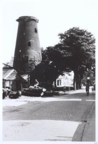 018171 - Houtzaagmolen van Mathijssen aan de Elzenstrat anno 1958
