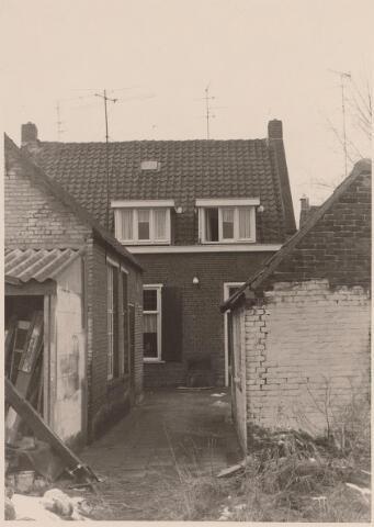 026185 - Achterzijde van het pand Lijnsheike 50 begin 1969