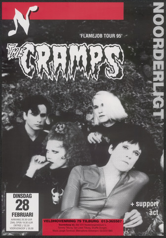 650314 - Noorderligt. The Cramps. Support act: S.M.A.S.H.