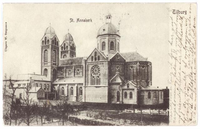 000342 - Capucijnenstraat,  St. Annakerk.