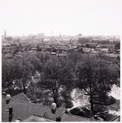 036551 - Panorama van Tilburg vanaf Bejaarden Centrum St. Antonius van Padua