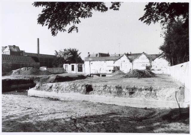 019193 - Achterzijde van het complex van de voormalige wollenstoffenfabriek Gebroeders Franken bezien vanuit de Bisschop Aelenstraat