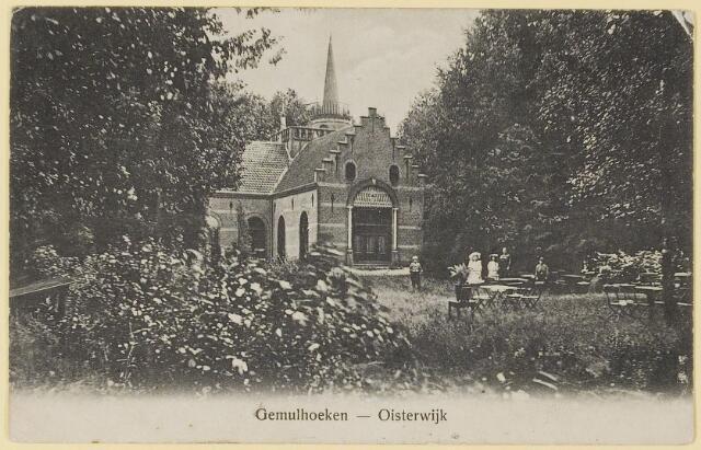 """073716 - Huize """"De Gemullehoeken""""gelegen aan de Gemullehoekenweg."""
