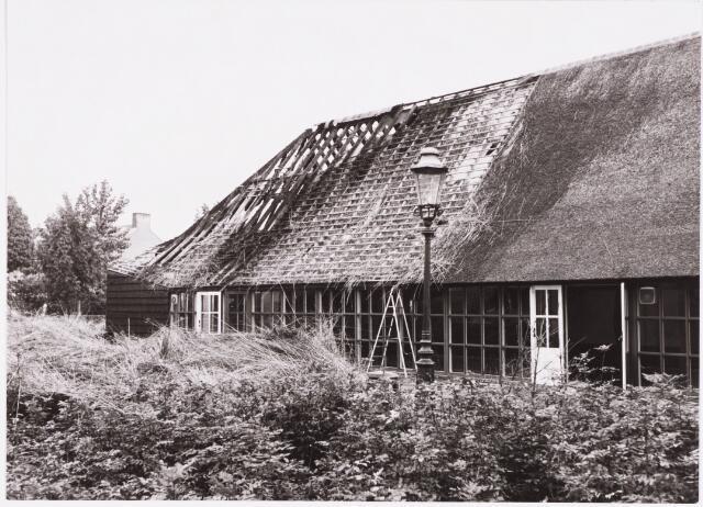 029655 - Brand: Tiendschuur, Tongerlose Hoef aan de Reitse Hoevenstraat