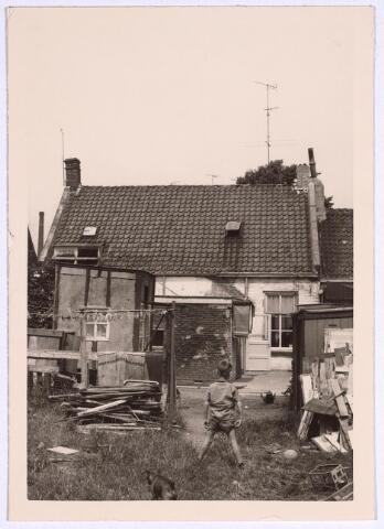 024956 - Achterzijde van de panden Laagstraat 16 en 18 medio 1965