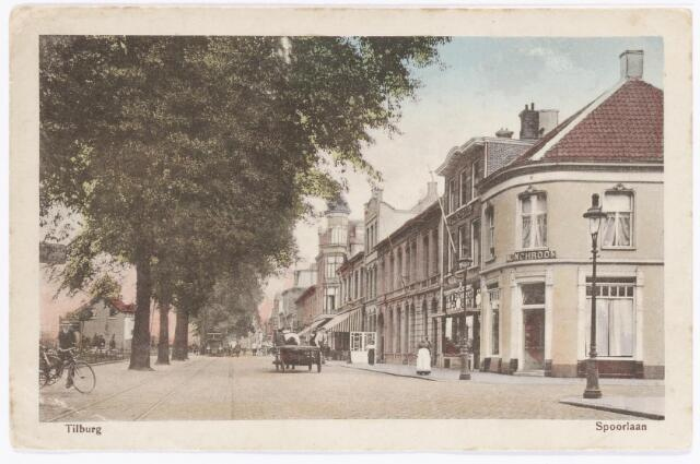 039991 - Spoorlaan. Rechts hoek Stationsstraat.
